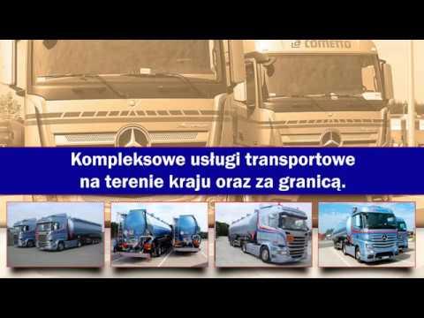Usługi Transportowe Przewóz Cementu Przewóz Zbóż Wolice Cometto