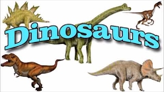 Names of Dinosaurs | Learn Dinosaur Names
