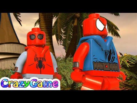 LEGO Marvel Super Heroes 2 Spider-Man Homemade Suit & Scarlet Spider (Xandar Free Roam)