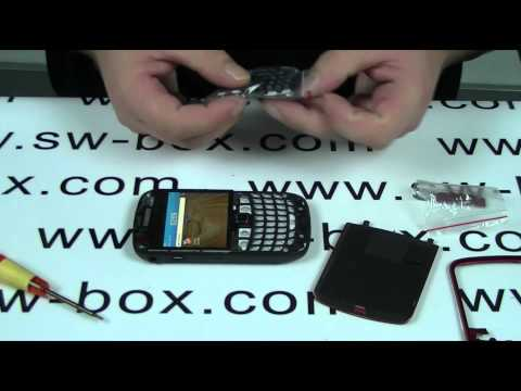 How To Change Blackberry 9300 Housing