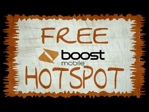 Unlimited FREE Mobile Hotspot-Boost Mobile Unlock! No Root!