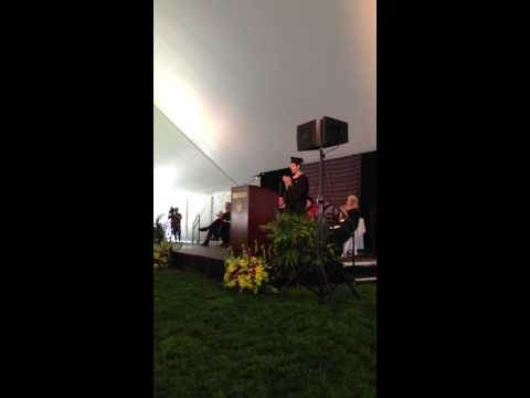 Mark Haser speech at BC Carroll School of Management Graduate Programs Commencement May 20 2013