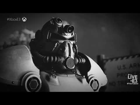 Fallout 76 World Premiere First Look Trailer - Microsoft Xbox Press Conference E3 2018