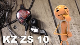 Review KZ ZS10 Indonesia