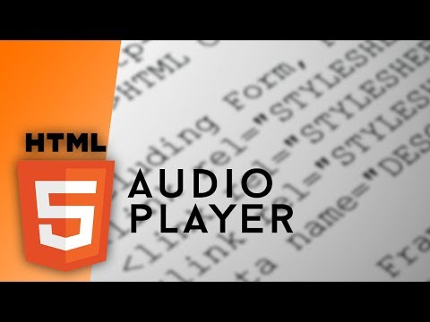HTML - Audio Player