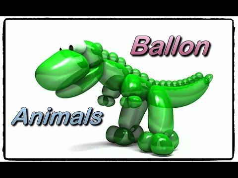 Ballonimals - Dinosaur, duck, lion, snake, fish, sheep