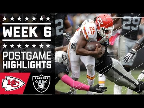 Chiefs Vs Raiders Nfl Week 6 Game Highlights