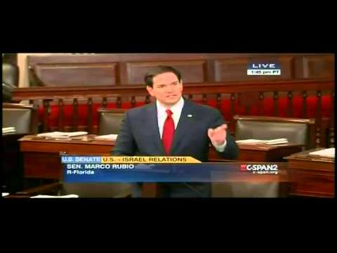 Marco Rubio Delivers Blistering Speech on Obama's Assault on Israel