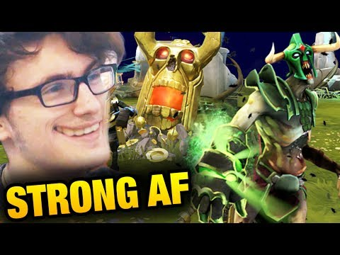 Miracle- Dota 2 [Ursa] Undying Is So FUKING STRONG