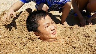 Trò Chơi Chôn Em Bé Xuống Đất – Buried Baby Underground❤ ChiChi ToysReview TV ❤