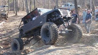 1988 Ford/Jeep 7.3L International Hybrid 4x4 Rock Crawler Build Project