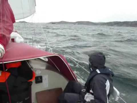 Sailboat trip in Norway from Oslo to Bergen with an Albin Ballad