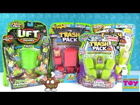 Trash Pack Zombies UFT Series 4 5 12 Pack Opening Toy Review   PSToyReviews