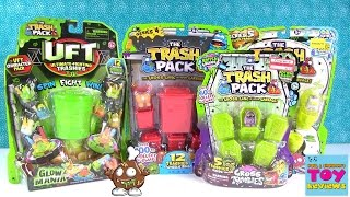 Trash Pack Zombies UFT Series 4 5 12 Pack Opening Toy Review | PSToyReviews