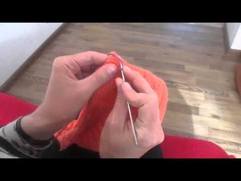 Как укоротить вязание спицами 147