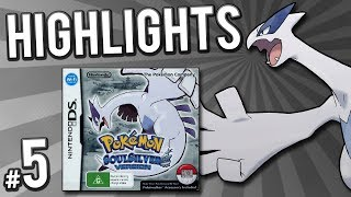 Pokemon Soul Silver Randomizer Nuzlocke - Highlights! | PART 5