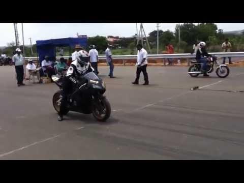 Honda CBR 1000 RR vs RX KING