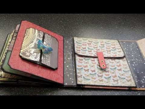 Mariposa keepsake mini album