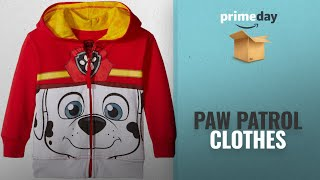 Paw Patrol Clothes And More On Prime Day Deals: Nickelodeon Toddler Boys' Paw Patrol Character Big