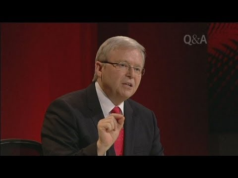 Rudd Launches Passionate Gay Marriage Defence video