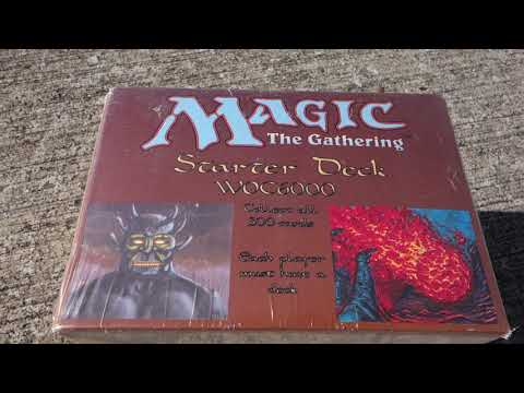 Vintage Magic Reviews = SEALED Unlimited Starter Deck Box {What ULTIMATE MASTERS aspires to be}