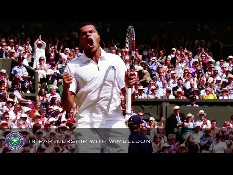 Djokovic v Tsonga (2011 Men's Semi-Final) - Rolex Wimbledon Golden Moments