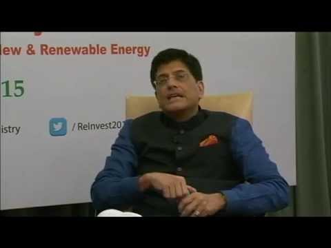 Talkathon With Shri Piyush Goyal #REInvest2015