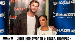 Download Song Chris Hemsworth and Tessa Thompson From Avengers End Game to MIB International Free StafaMp3