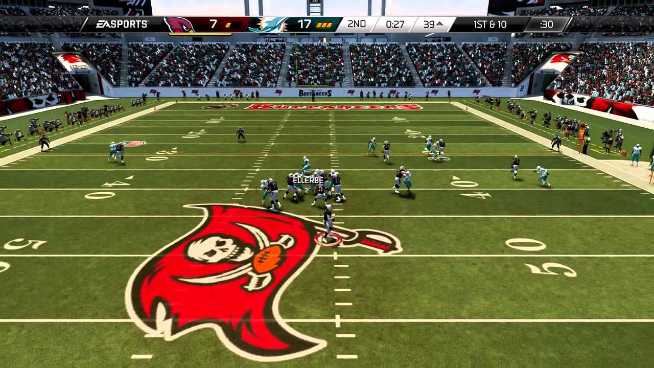 madden 25 xbox one gameplay best scramble ever