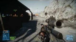 Battlefield 3|464m Head Shot|SKS Rifle|