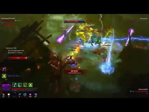 Diablo 3 Ultimate Evil Edition 1st Look Review Xbox 360 vs Xbox One Few Changes