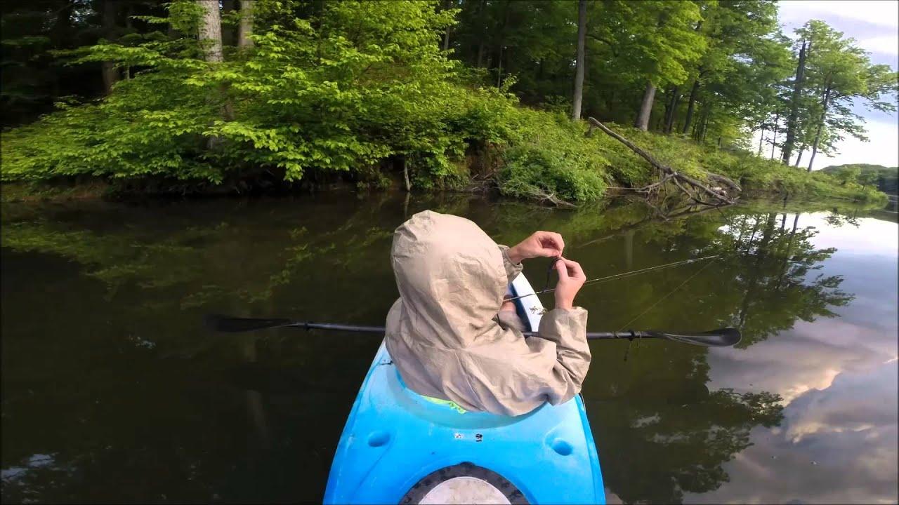 Kayak fishing lincoln trail state park may 2014 fishing bite for Lake wilhelm fishing