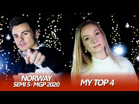 Eurovision 2020 NORWAY (SF 5 - MGP) | My Top 4