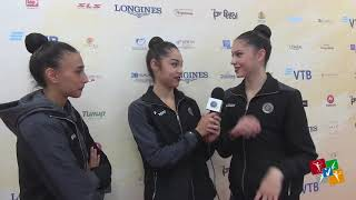 Sofia - Mondiale Ritmica - Fun interview!
