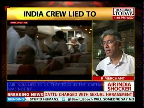 Air India in damage control mode after release of video shot by passenger