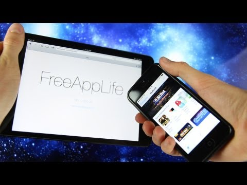 FreeAppLife iOS 6.1.3 How To Get Paid Apps Free Without Jailbreak Cydia iPhone. iPad & iPod touch