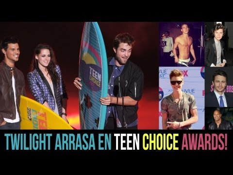 TWILIGHT Arrasa en Teen Choice Awards!!!