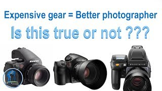 Buying a fancy expensive camera will not make you a better photographer. Is that true???