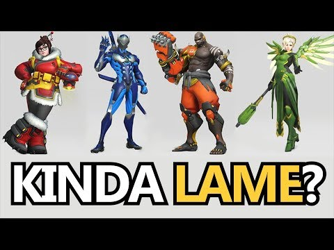 Why The OWL Skins Are Kinda...Lame (Overwatch News)