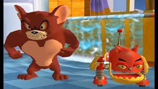 Tom and Jerry War of the Whiskers - Monster Jerry and Robocat Teeam - Funny Cartoon Games HD