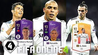 "FIFA ONLINE 4: TEST DÀN TEAM "" HOÀNG GIA "" Real Madrid  5 TỶ MAX BINH - ShopTayCam.com"