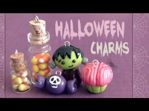粘土でハロウィン☆かぼちゃ・お菓子・ミッキー