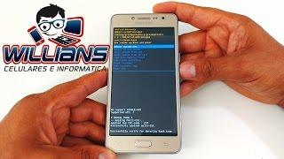 Hard Reset Samsung Galaxy J2 Prime, Prime TV, SM-G532, G532MT, Como Formatar, Desbloquear, Restaurar