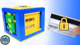 How to Build a Mini LEGO Card Safe | Card and Lock Mechanism