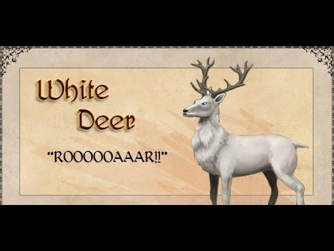 Tibia Como fazer a montaria e domar o white deer.