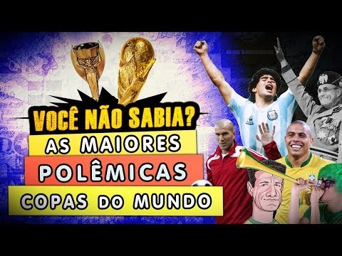 As Maiores Polêmicas em Copas do Mundo
