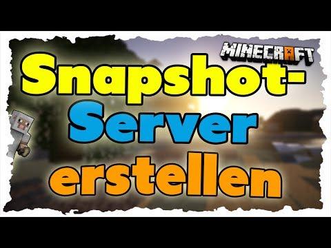 Minecraft 1.8: Server erstellen (Tutorial) - Snapshots im Multiplayer spielen
