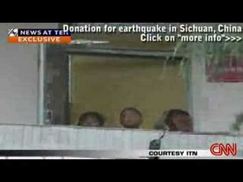 China eathquake: Dramatic video of quake damage