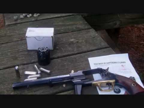 Pietta Model 1858 New Army R&D conversion 45 colt