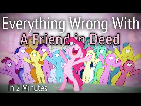 (parody) Everything Wrong With A Friend In Deed In 2 Minutes video